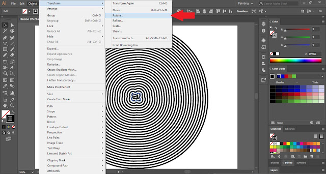 Illusion Effect in Adobe Illustrator