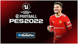 Download PES 2022 LITE PPSSPP ISO New Update Latest Transfers & Full Promotion Teams