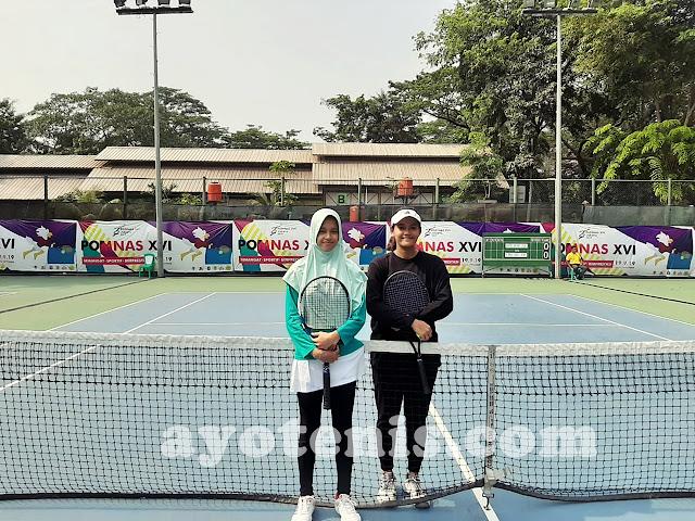 POMNAS 2019: Oktavia Ayu Dewi Persembahkan Medali Bagi Jawa Timur dari Cabor Tenis