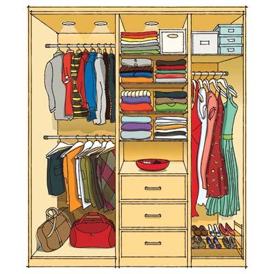 Vida em Ordem: Guarda-roupa | Um início de conversa...
