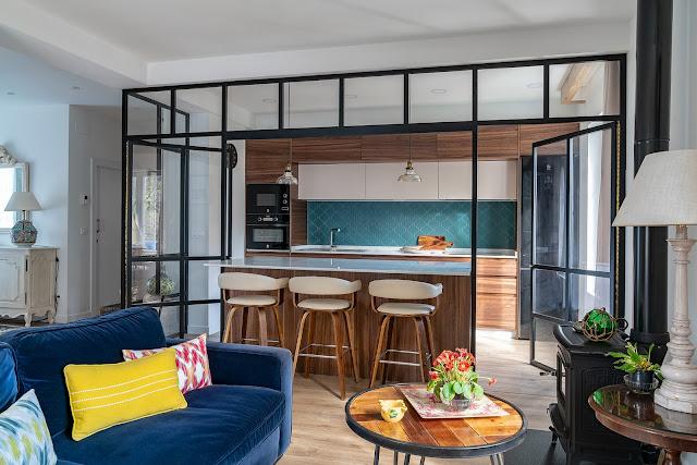 Дизайн-проекты. Морской стиль дома в Сантандере