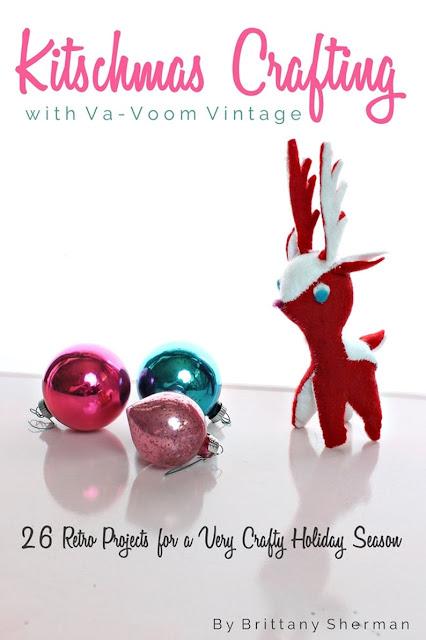 kitschmas crafting with va voom vintage ebook review