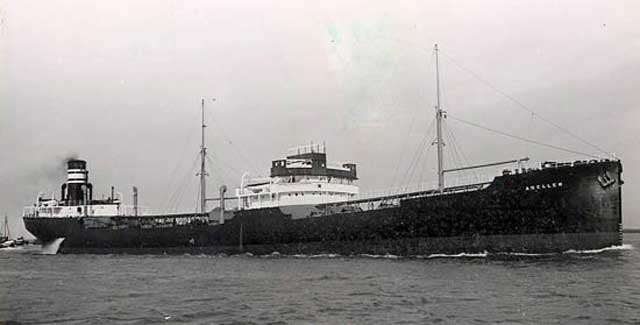 MV Adellen, 22 February 1942, worldwartwo.filminspector.com