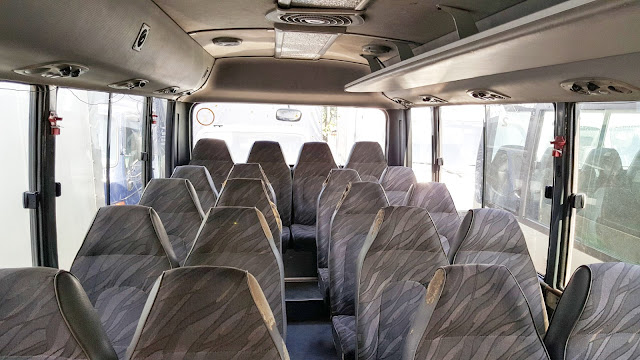 ghế xe county hyundai 29 chỗ