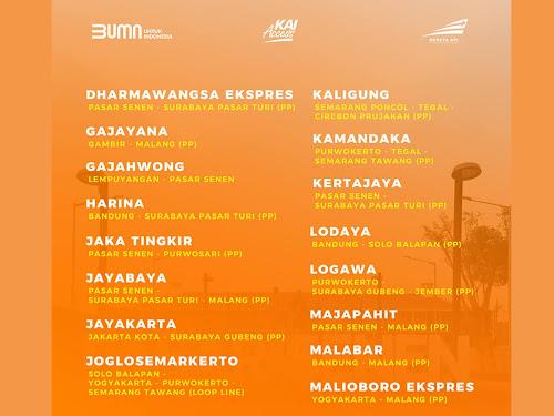 jadwal kereta api jarak jauh september 2020