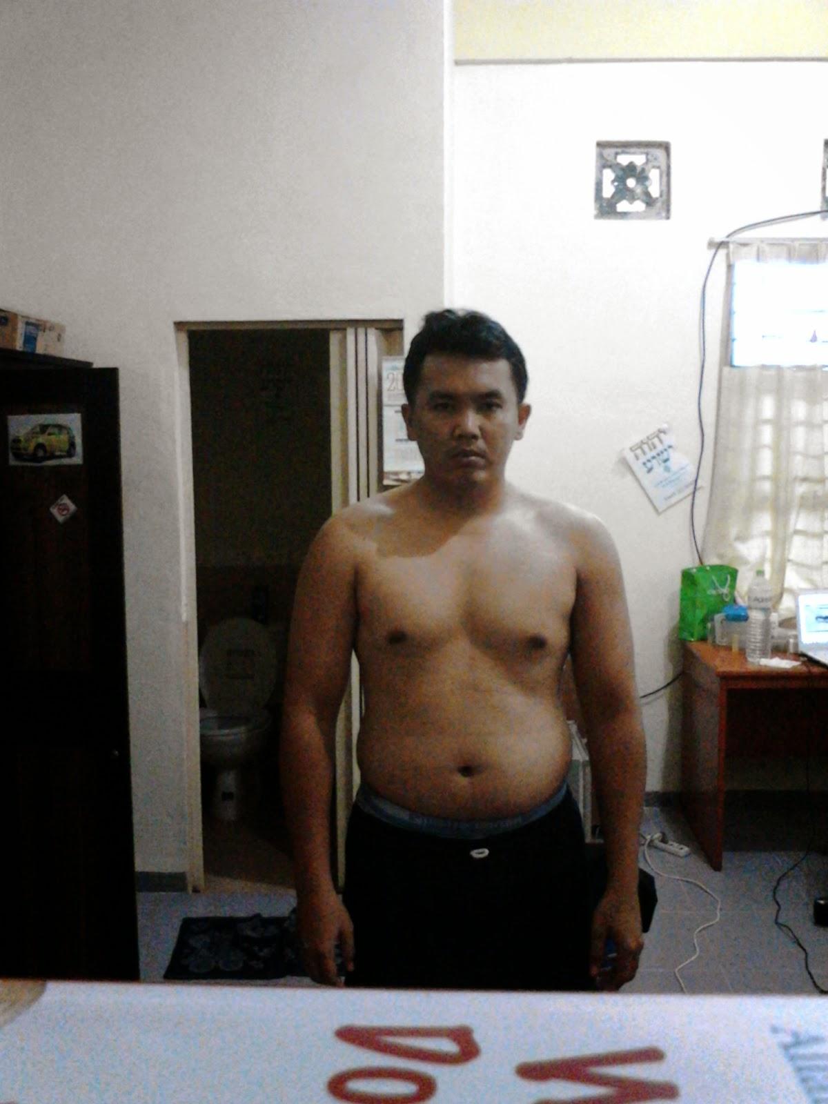 Hasil Diet OCD (Obssesive Corbuzier Diet)