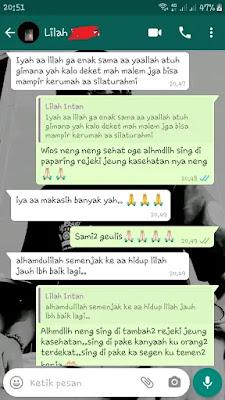 Testimoni dari Bogor