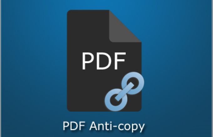 PDF Anti-Copy Pro Full Version For Windows