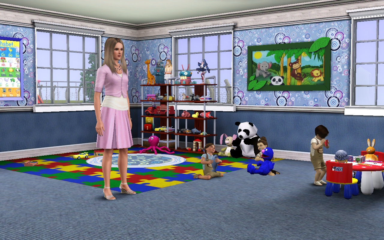 Jamee S Sims 3 School For Story Telling