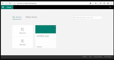 Panduan Microsoft Form 2