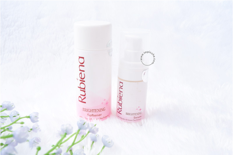 Rubiena Brightening Series Skincare - Brightening Softener