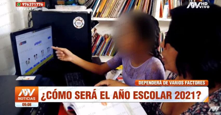 PRESENCIAL O VIRTUAL: Sepa cómo será el año escolar en el 2021 [VIDEO]