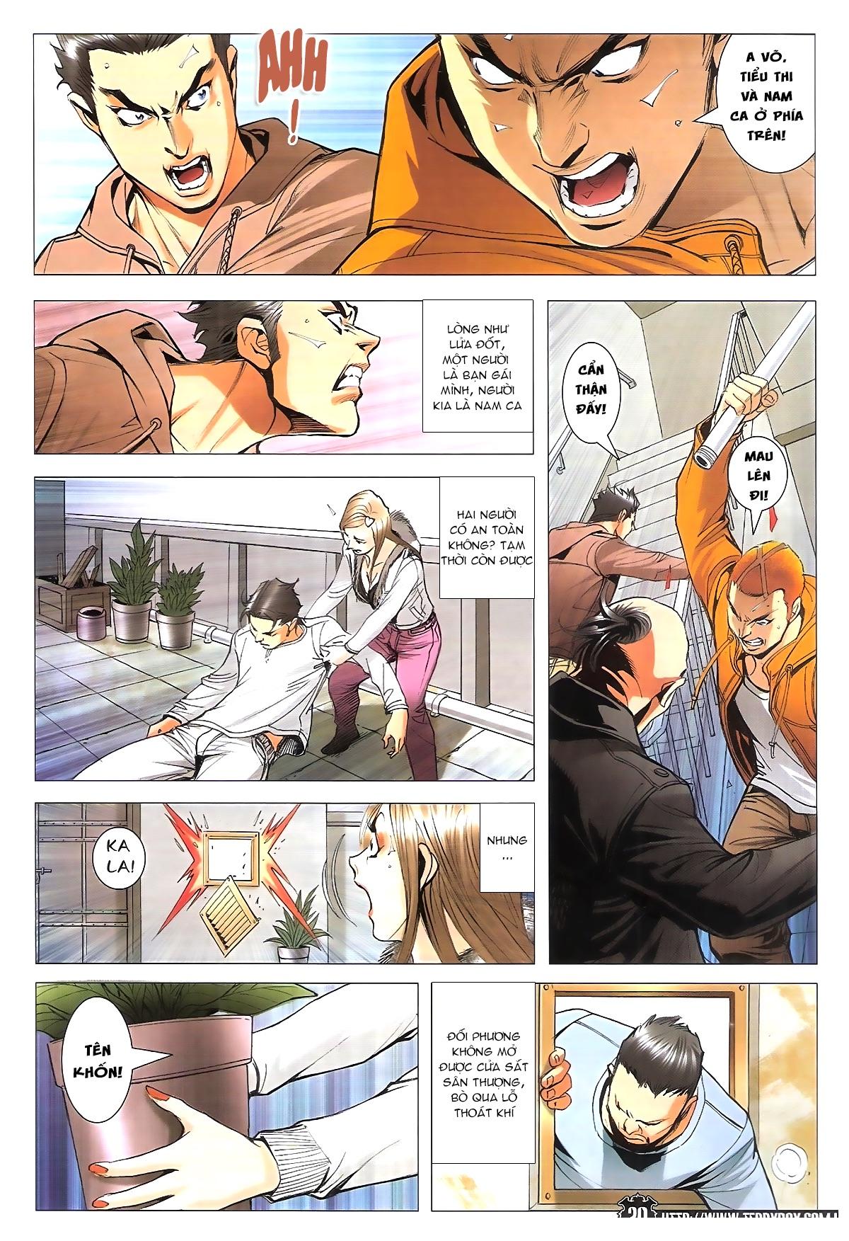 Người Trong Giang Hồ chapter 1787: hỏa thiêu trần hạo nam trang 18