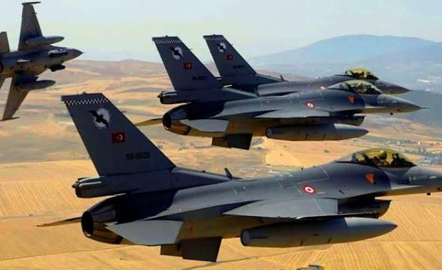 Δεκάδες παραβιάσεις από τουρκικά αεροσκάφη