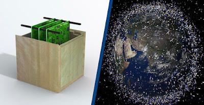 satelit angkasa diperbuat daripada kayu
