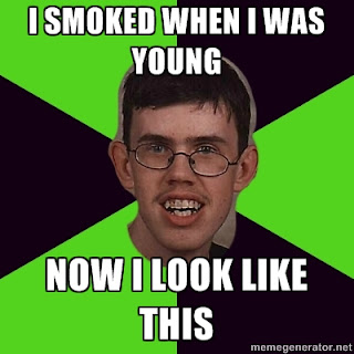 Meme about smoking