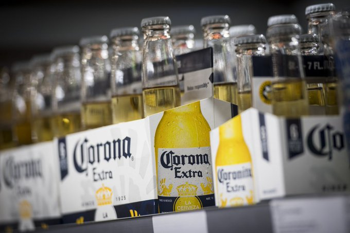 Corona Beer hit Corona Virus?, Stakes Fell by Eight Percent..