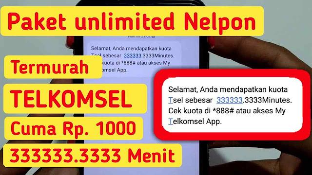 Daftar Harga Paket Nelpon Telkomsel Paling Murah