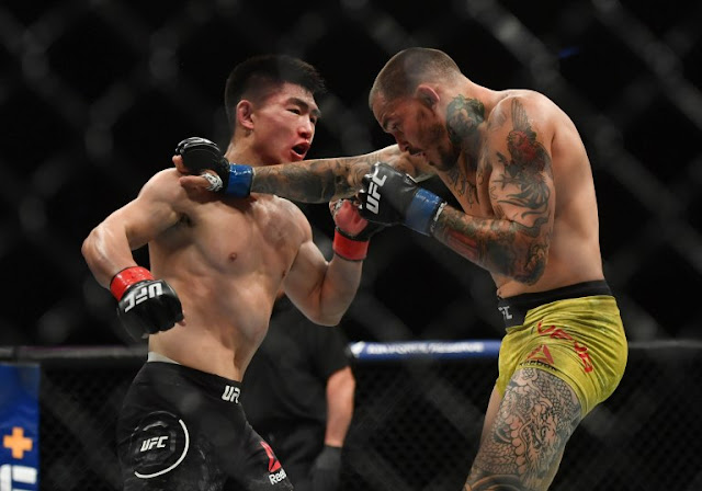 Song Yadong tags Marlon Vera UFC on ESPN 8