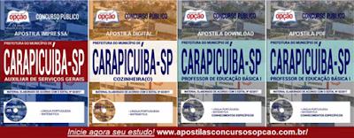 apostilas Prefeitura de Carapicuíba SP