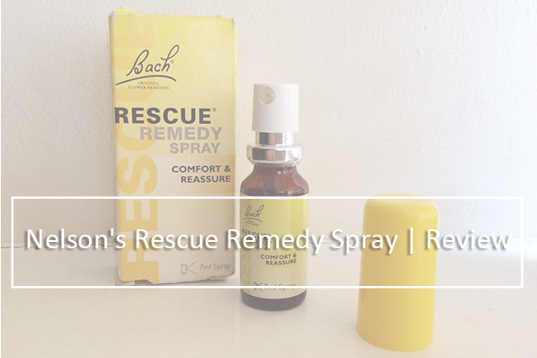 Nelson's Rescue Remedy Spray | Review