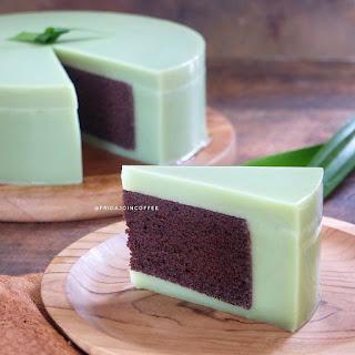Ide Resep Cara Membuat Pudding Cake Brownies Pandan