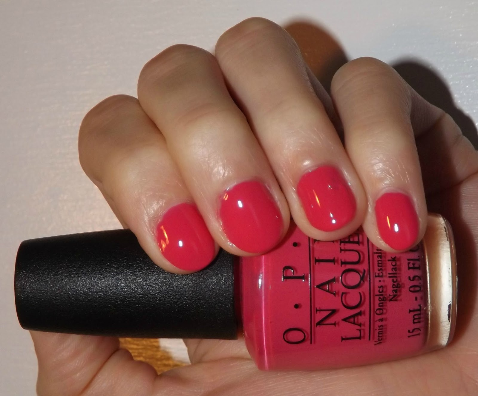Perfectly Polished 12 Opi Strawberry Margarita