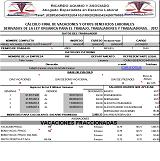 Programa en Excel para calcular vacaciones Colectivas en el sector construcción