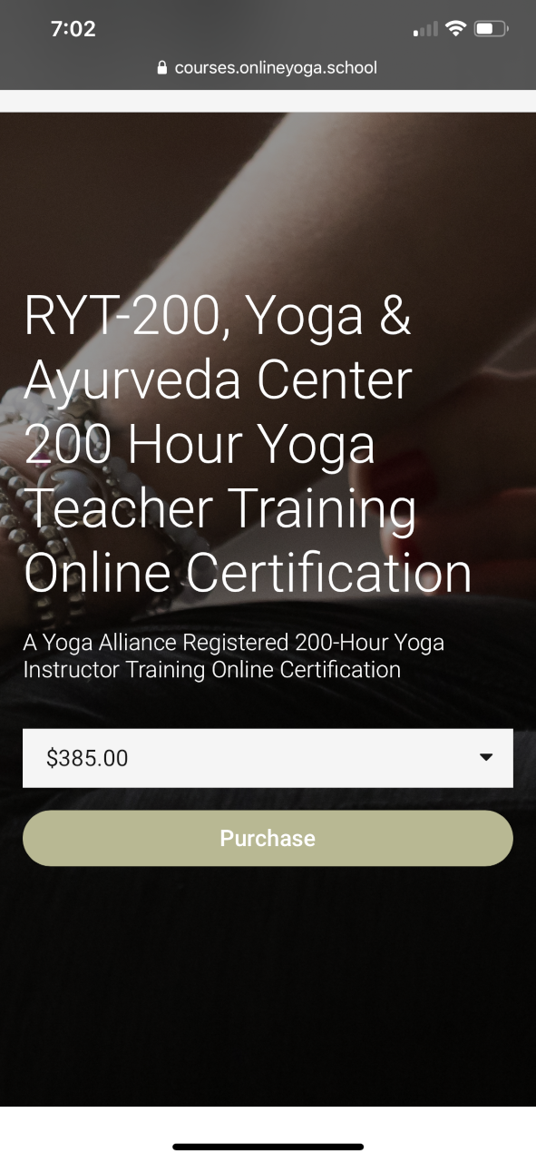 Online Yoga School And Yoga Ayurveda Center S Online Yoga Teacher Training Student Review