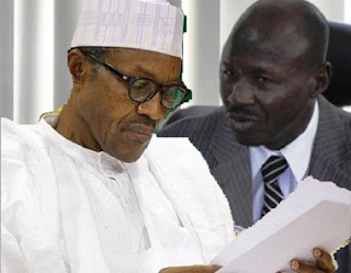 Muhammadu Buhari and EFCC Magu