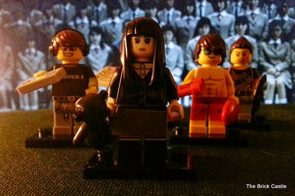 LEGO Series 12 minifigures battle royale spooky girl