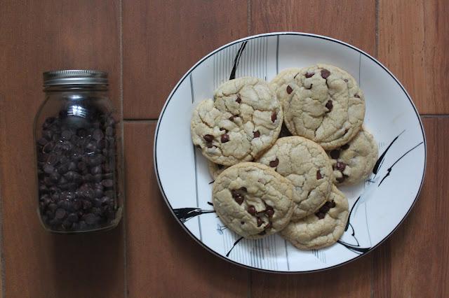 Zero Waste Chocolate Chip Cookies