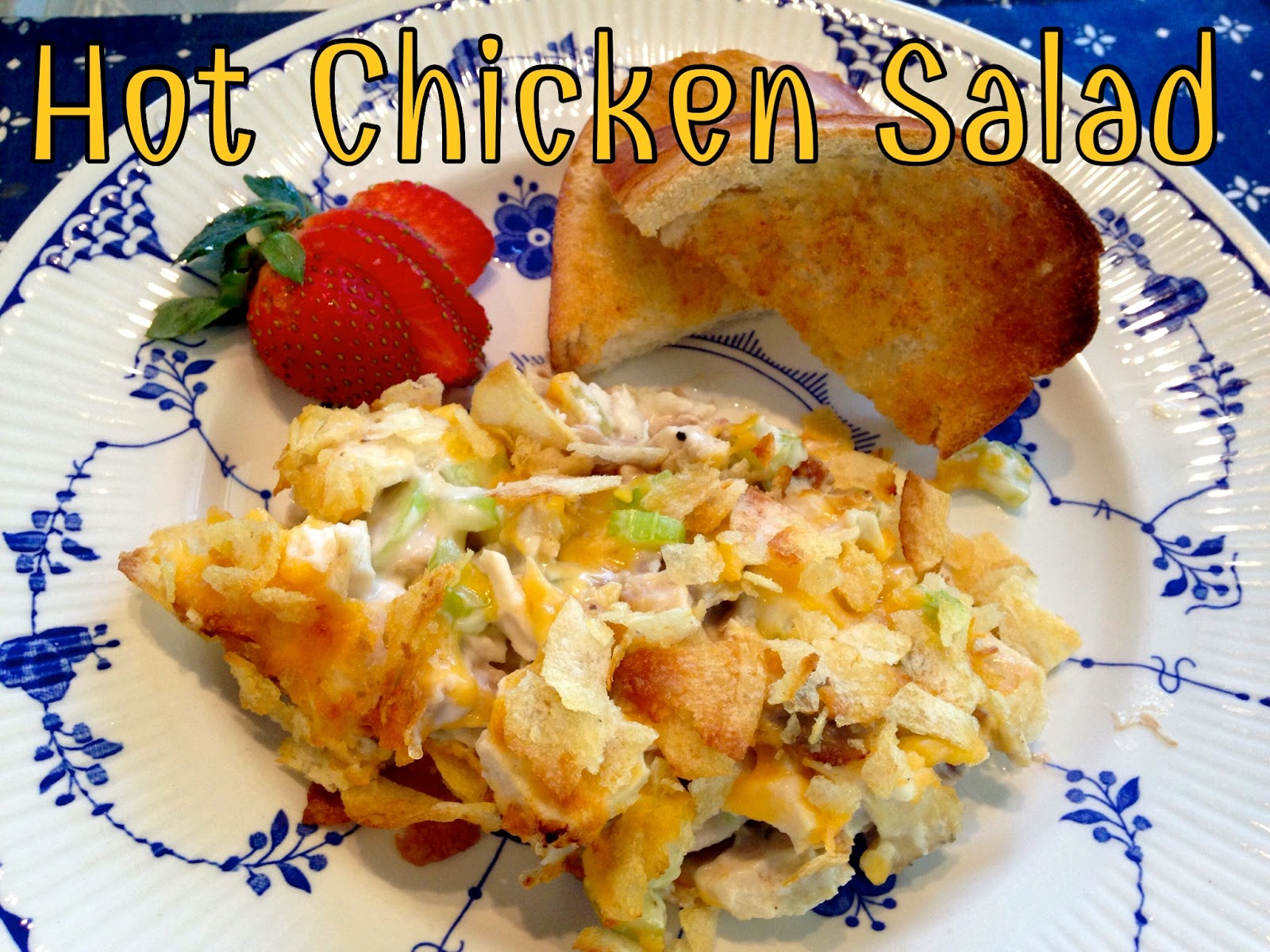 Rita 39 S Recipes Hot Chicken Salad