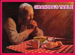 GRANDPA'S TABLE story
