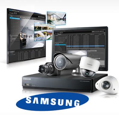 Đầu ghi hình Camera Samsung cho chất lượng hình ảnh hoàn hảo.