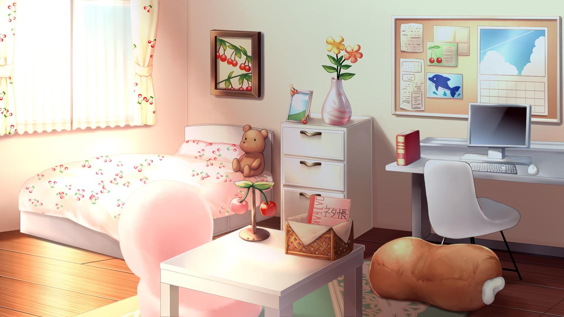 anime bedroom wallpaper