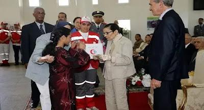 برقية تعزية إلى حضرة صاحب الجلالة والمهابة الملك محمد السادس نصره الله