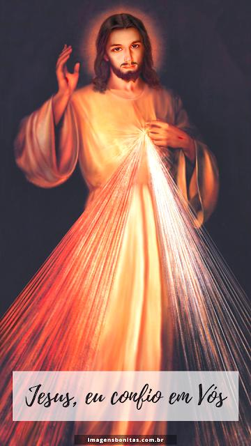 Wallpaper de Jesus Misericordioso para celular