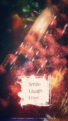 Smile Laugh Love (Christmas Season 2017) Copyright 2017 Christopher V. DeRobertis. All rights reserved. insilentpassage.com
