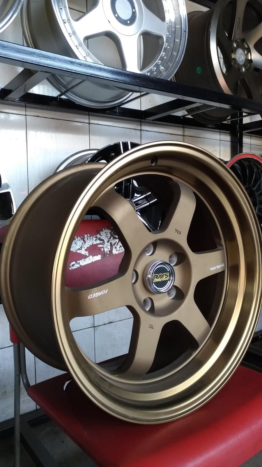 Jual Velg Mobil Merk Rays Te37 Rp 6500000 Istana Ban