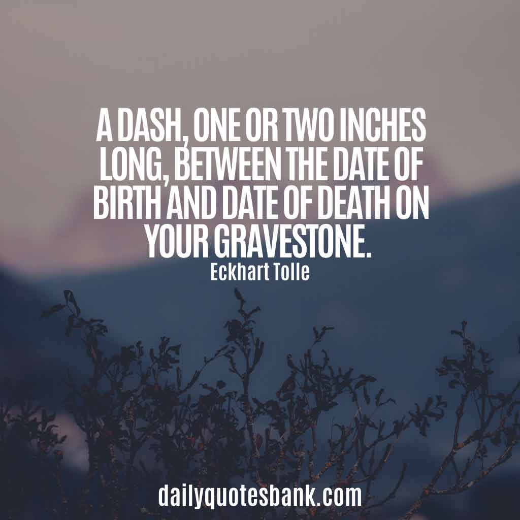 Eckhart Tolle Quotes On Death