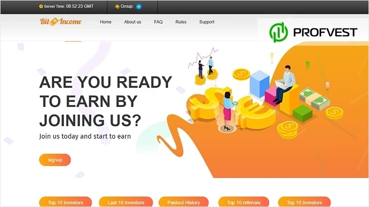 BitIncome обзор и отзывы HYIP-проекта
