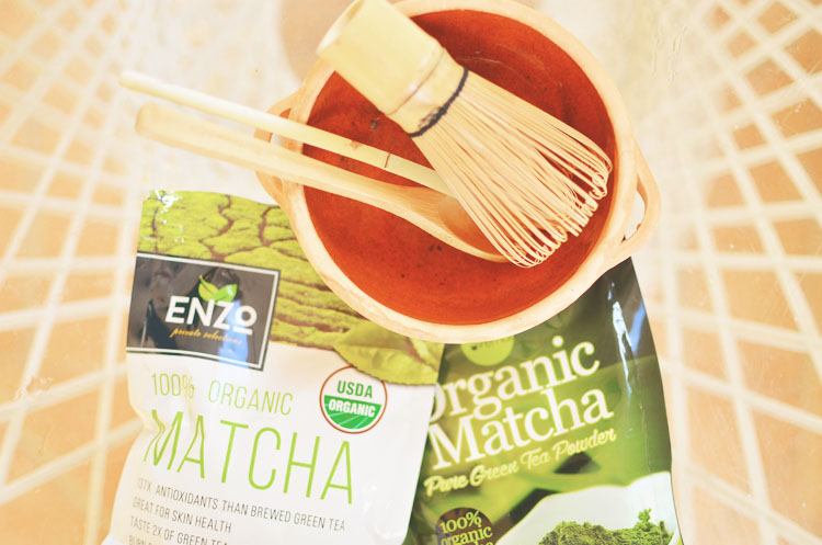 Brewing Matcha Green Tea at A Nest for All Seasons
