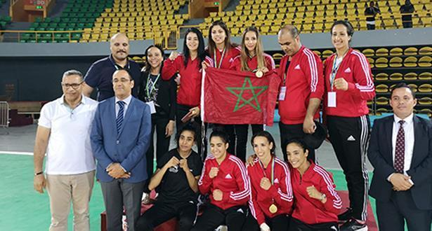 خمس ذهبيات تعطي سيدات الملاكمة المغربية الريادة في بطولة دولية