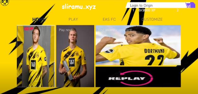 Fifa 22 Mod Borussia Dortmund (800MB) New Kits & Transfer 2021-2022