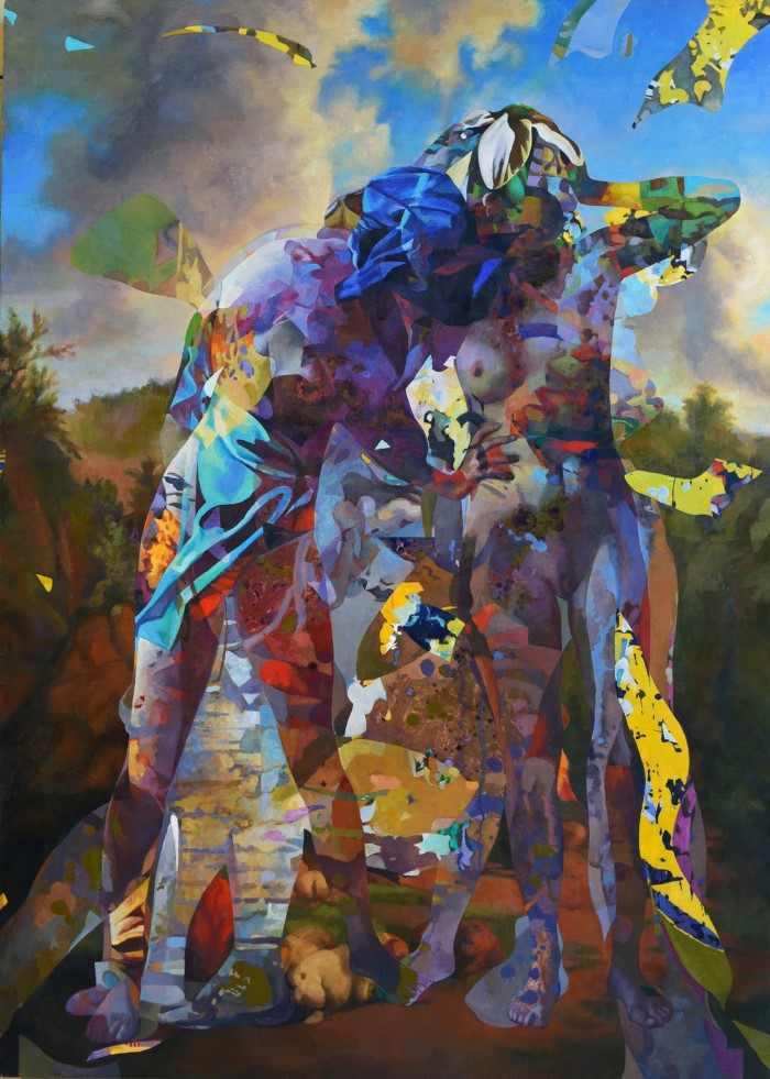 Загадочные картины. Daniel Ludwig