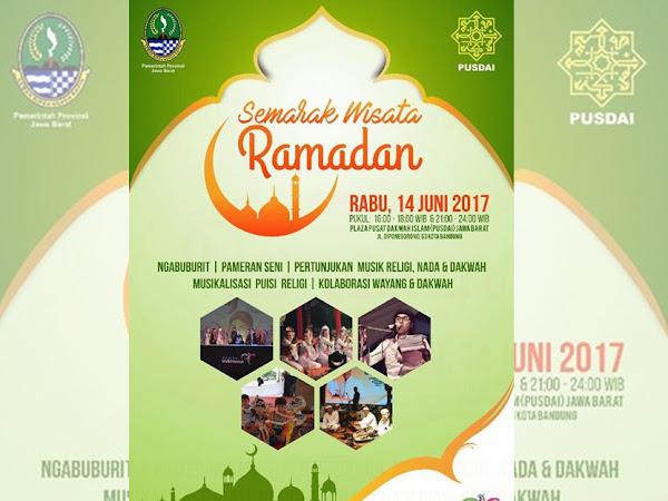 Semarak Wisata Ramadan di Pusdai Bandung