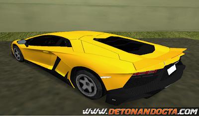 GTA VC - Lamborghini Aventador LP720-4 2013 50th Aniversario