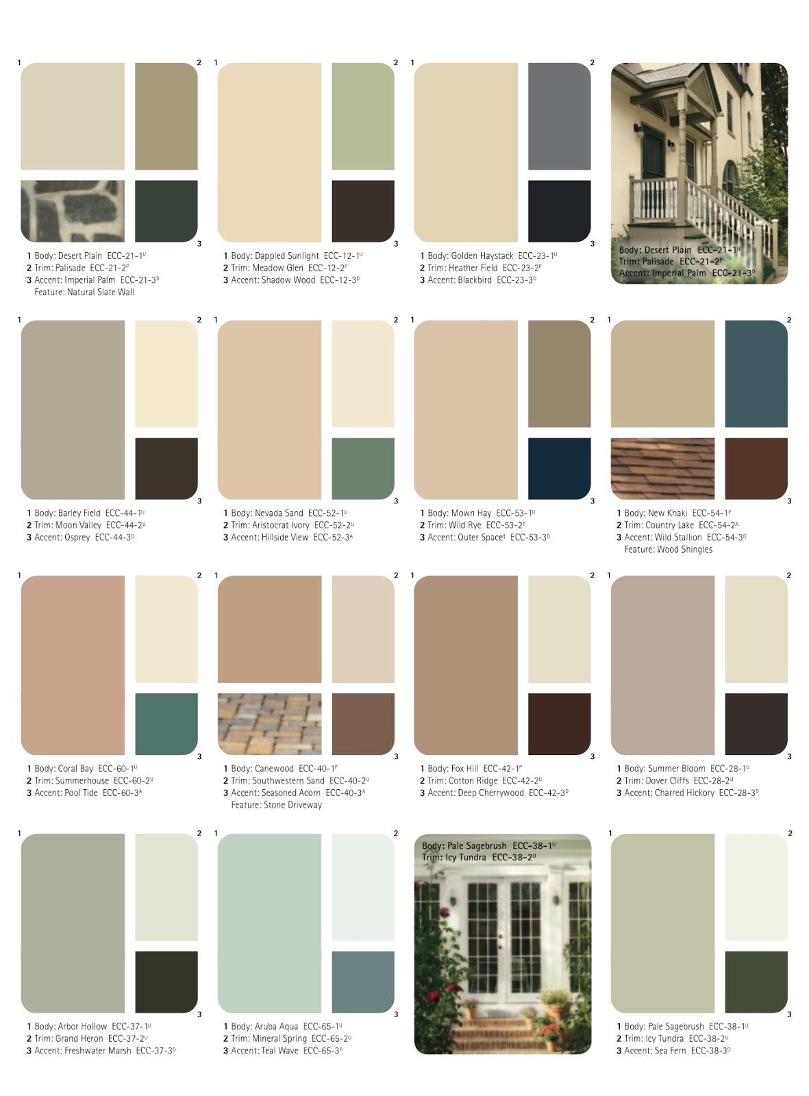 Terrific Anges Dollhouse Choosing The Exterior Color Scheme Largest Home Design Picture Inspirations Pitcheantrous