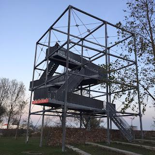 geocaching uitkijktoren de vink rozenburg